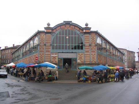 Le marché couvert début 2005