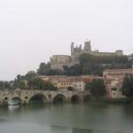 Béziers : les croisés entrèrent dans la ville par ce vieux pont. (Photo Martine Planes Corbiere)